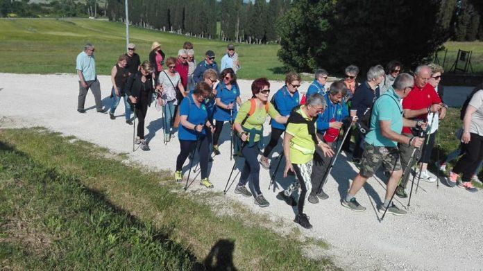 La Camminata al Chiaro di Luna sarà la prova di chiusura dell'iniziativa Sinalunga Cammina, incominciata lo scorso 25 aprile
